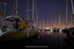 port La Valetta de nuit