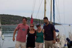 Nos amis grecs Athena et Ioannis