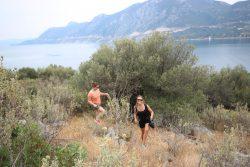 En randonnée sur Epidavros