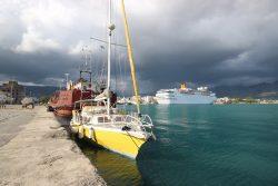 Le port public de Calamata